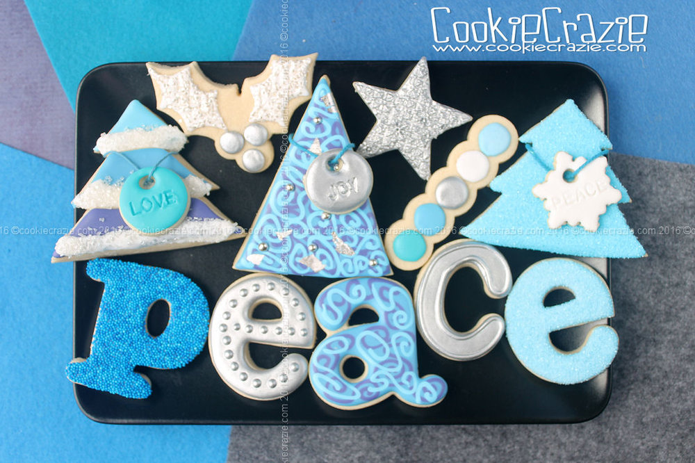 Heavenly Peace Christmas Decorated Cookie Collection
