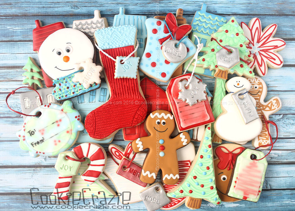 REJOICE Christmas Decorated Cookie Collection