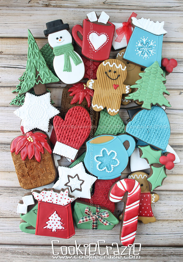 2016 Assorted Christmas Cookie Collection