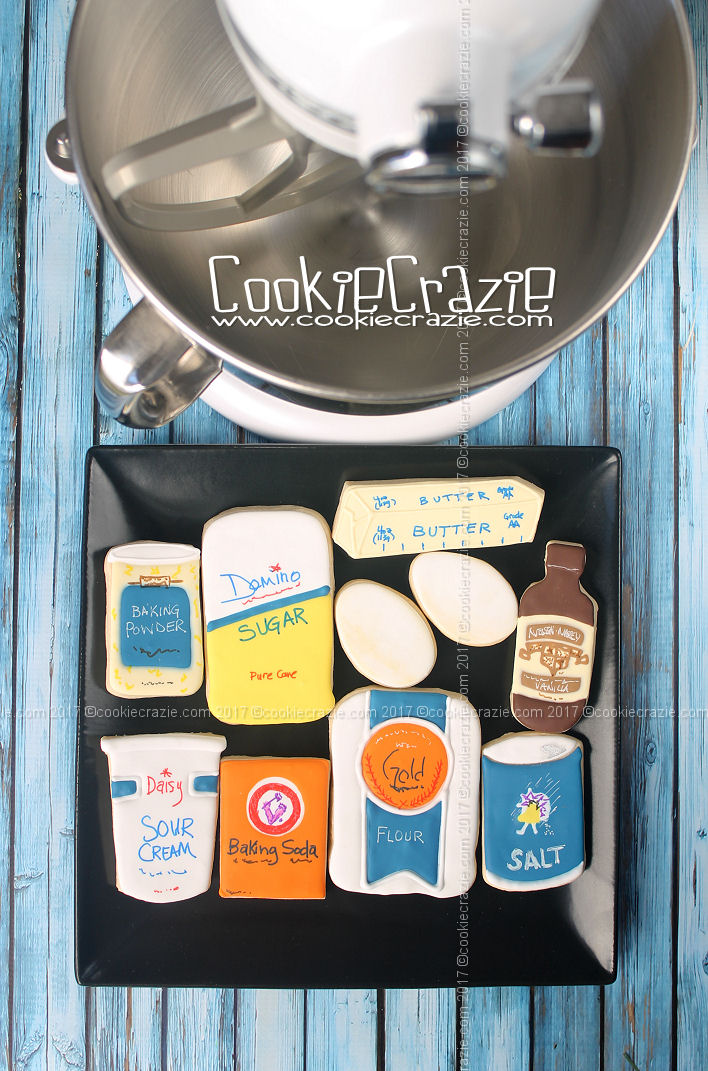 CookieCrazie Basics: Sugar Cookie Recipe