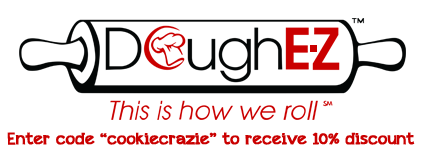 "To receive a 10% discount on the Dough E-Z, enter the code ""cookiecrazie"" during checkout. (CookieCrazie will receive a small portion of the sale for being an affiliate of Dough E-Z. As always, all the proceeds will go to my Ukraine mission effort.)"