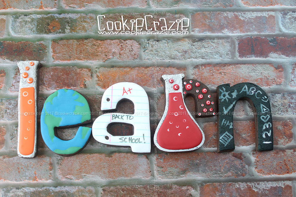 Letters done using Big Bodacious Alphabet Cutters