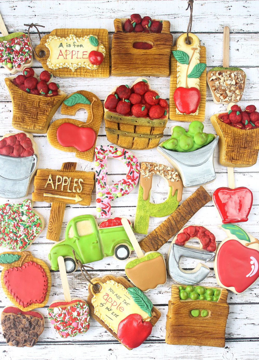 Apple Harvest 2017 Decorated Cookie Collection