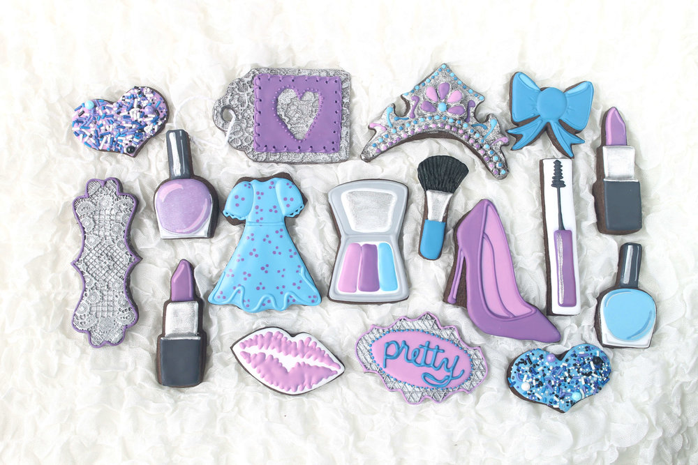 Pretty One Decorated Sugar Cookie Collection