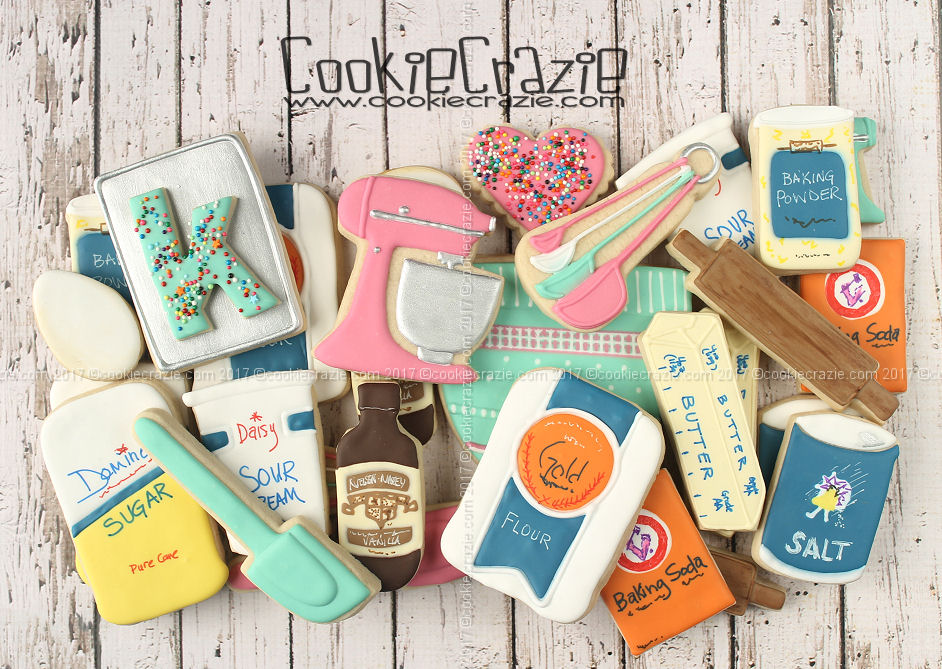 Baking Cookies Decorated Cookie Collection
