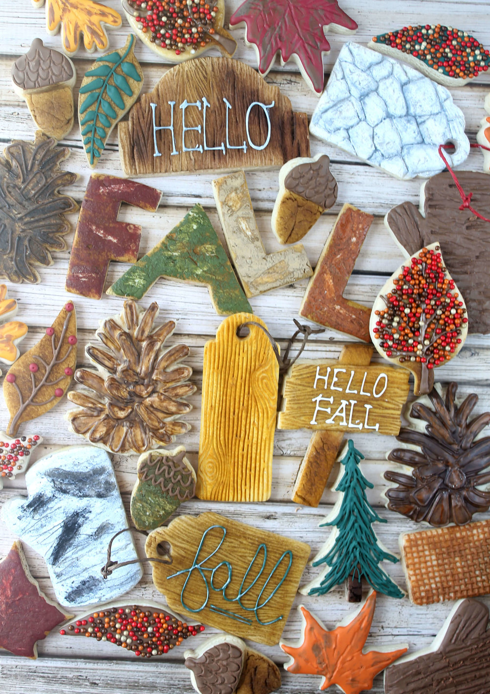 Hello Fall Decorated Cookie Collection