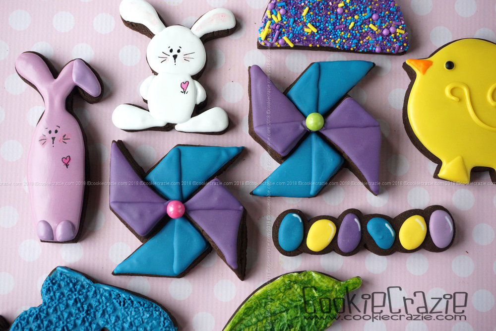 Pinwheel Decorated Sugar Cookie YouTube video  HERE . Pinwheel cutter found  HERE