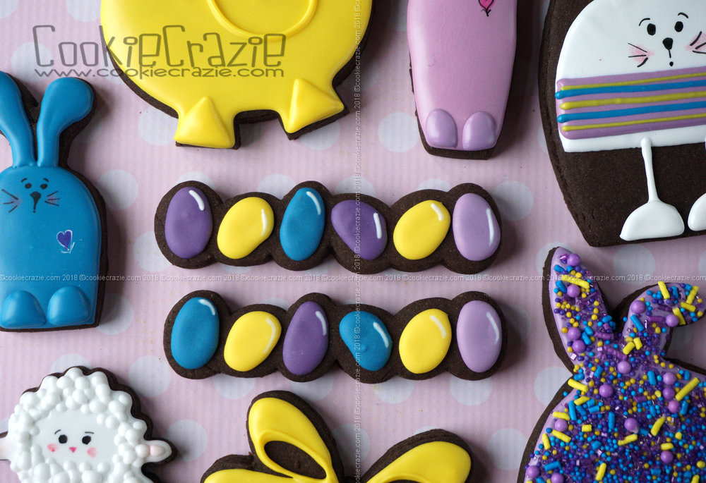 Jellybean Decorated Sugar Cookies YouTube video  HERE
