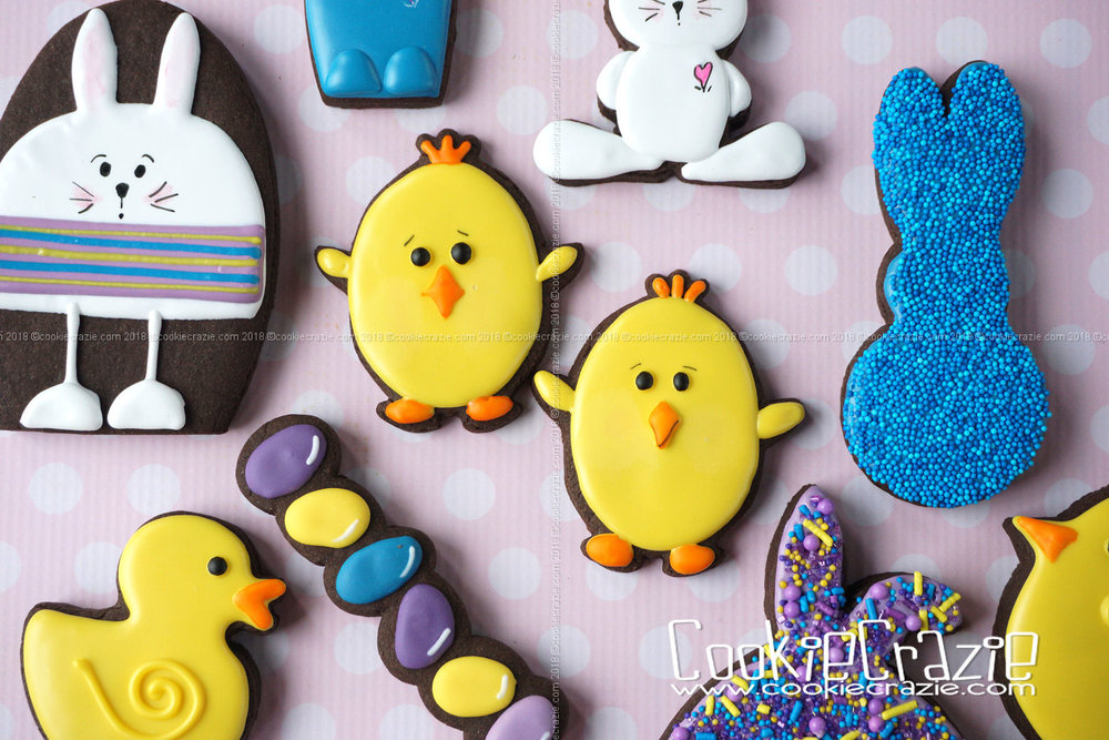 Chick Decorated Sugar Cookie YouTube video found  HERE  Chick cutter found  HERE