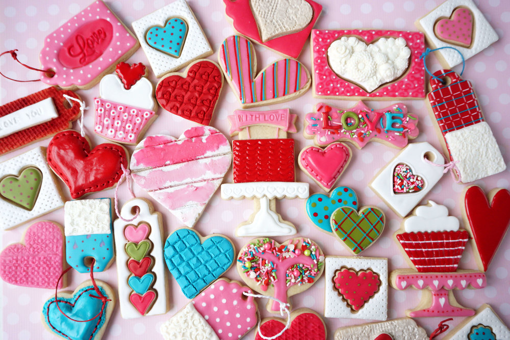 Happy Valentines Day 2018 Cookie Collection