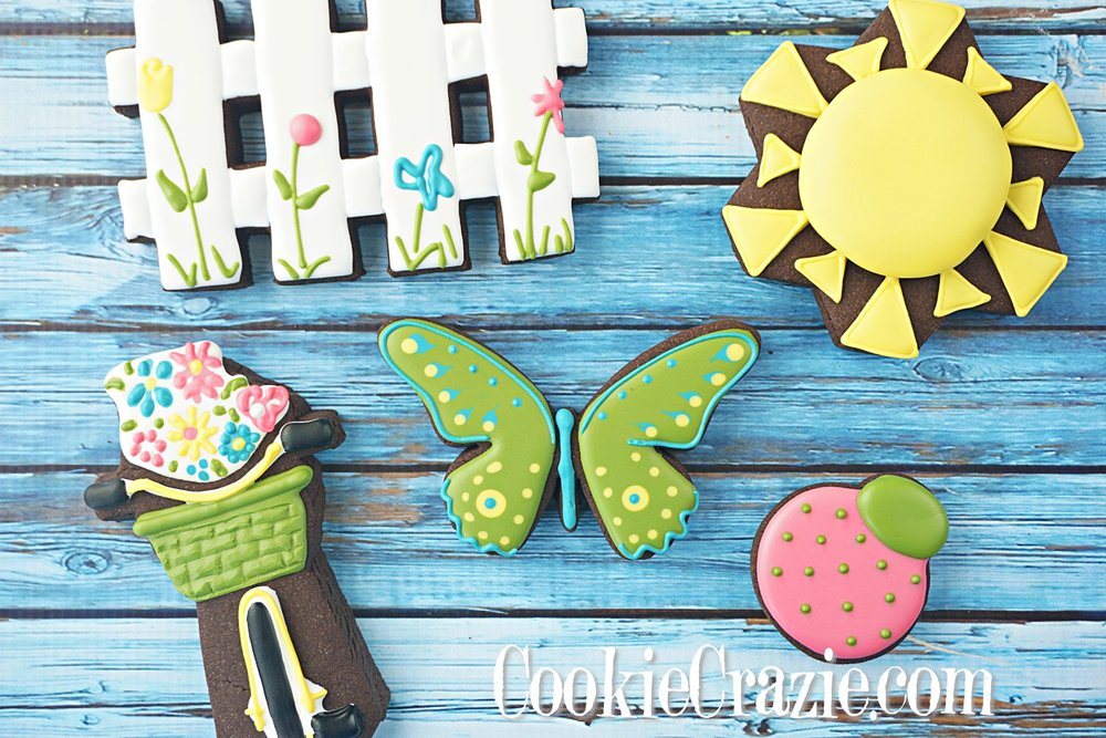 Butterfly Decorated Sugar Cookies YouTube video  HERE