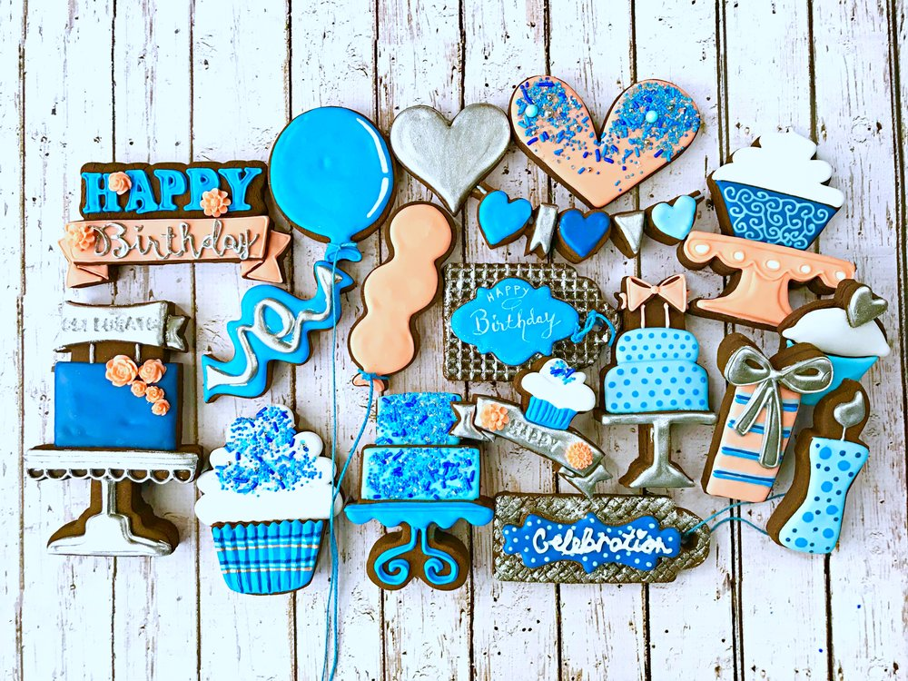 Birthday with SHINE Decorated Sugar Cookie Collection