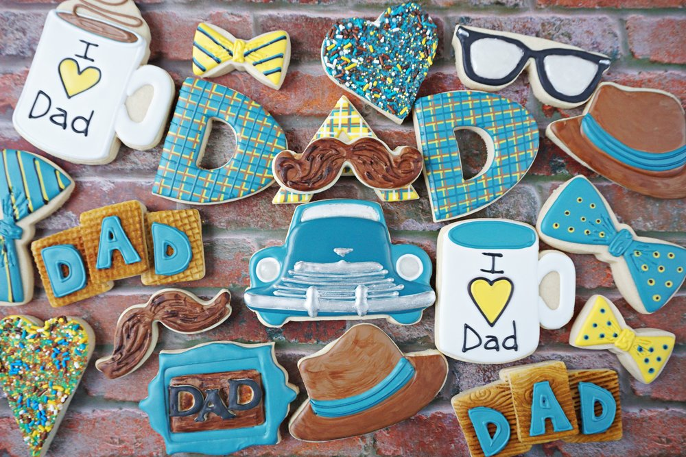Happy Fathers Day, Dad! Decorated Cookie Colllection