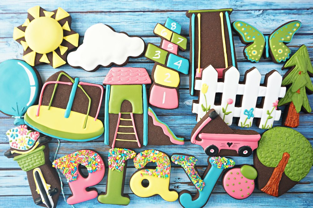 Summer PLAY Decorated Cookie Collection