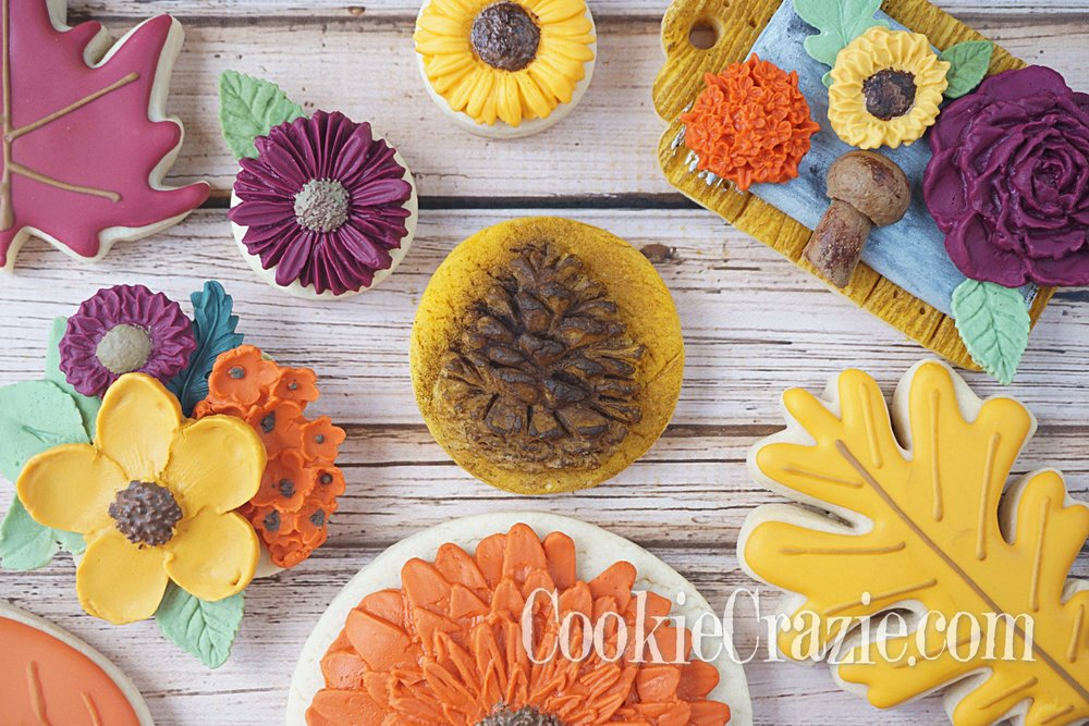 Pinecone Decorated Sugar Cookie YouTube video (Click on Photo)