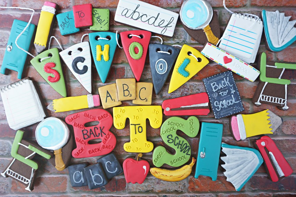 Back to School 2018 Decorated Cookie Collection