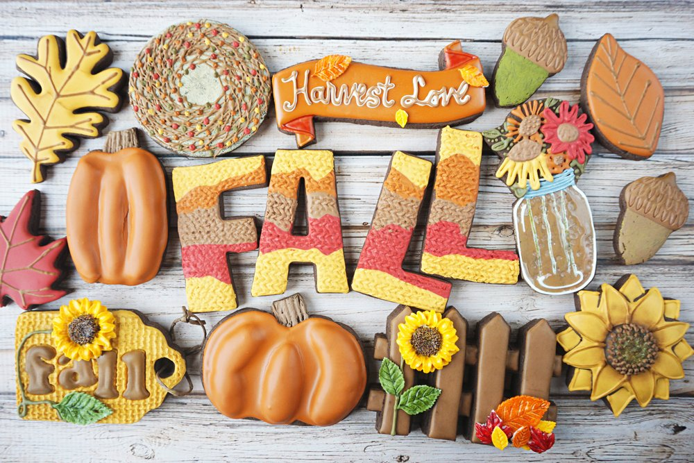 FALL Classics Decorated Cookie Collection