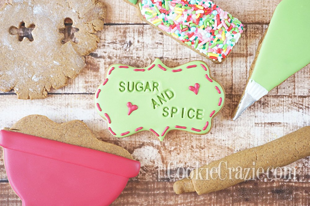 Sugar and Spice Decorated Sugar Cookies YouTube video  HERE