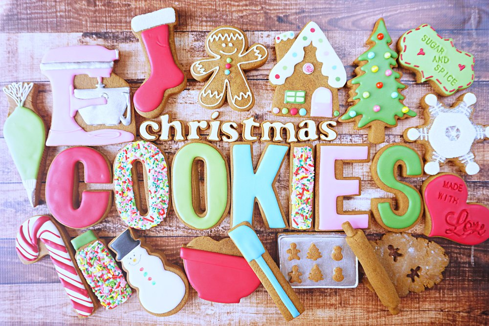 Decorating Christmas Cookies Collection