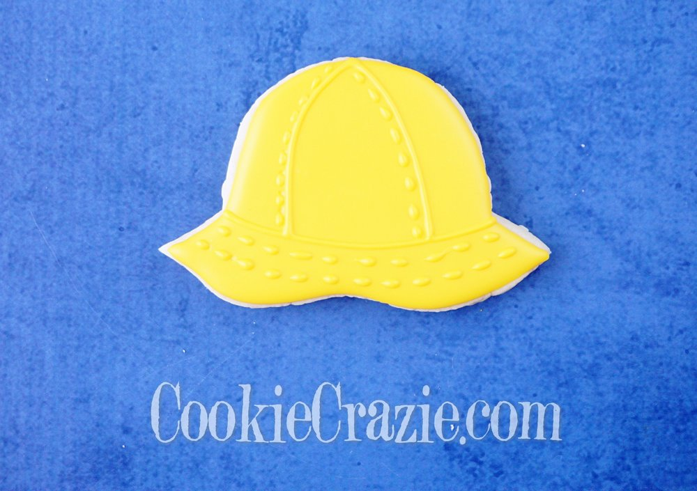 Rain Hat Decorated Sugar Cookie YouTube video  HERE