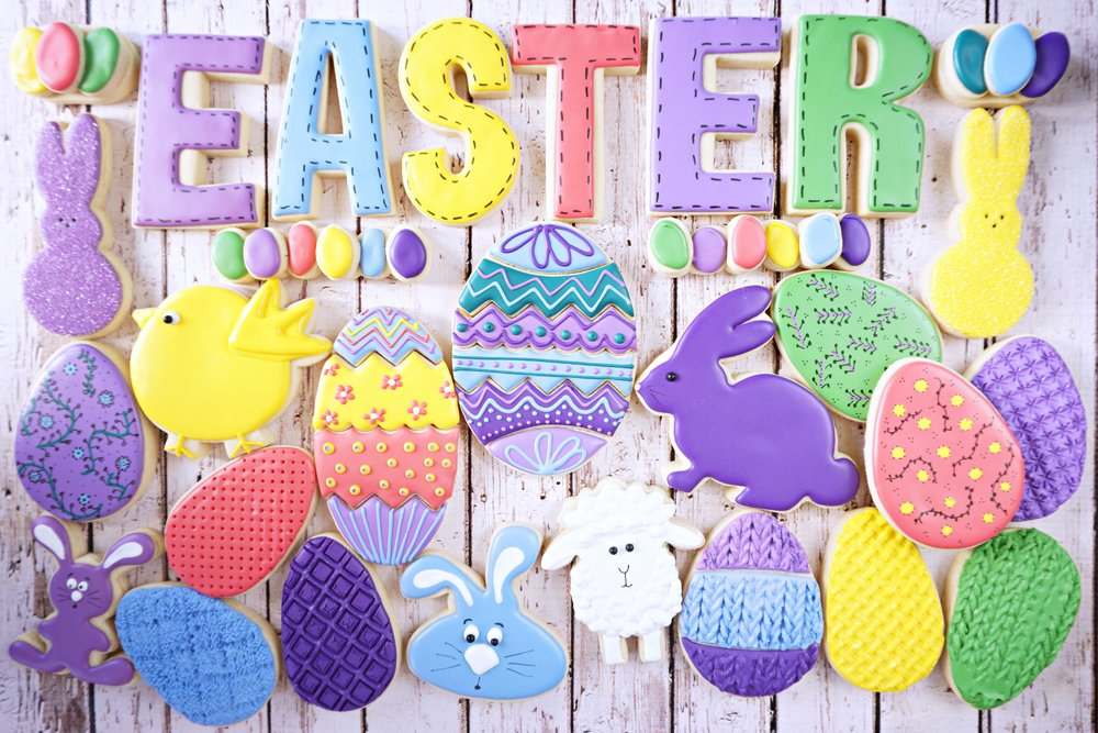 Easter Decorated Cookie Collection