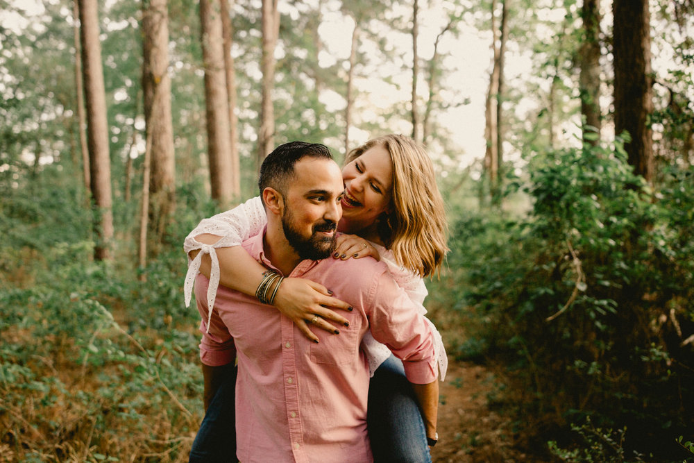 Steph & Ryan Huntsville State Park Engagement-64.jpg