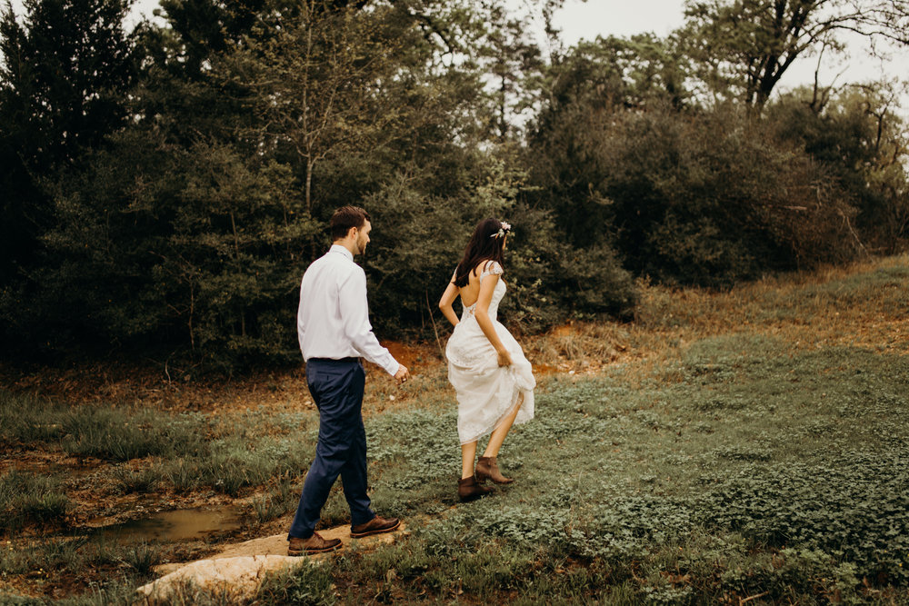 Eloping in Texas
