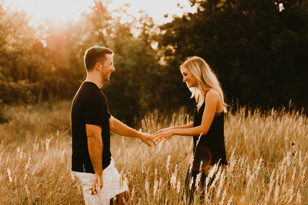 Golden Hour Engagement Portraits Texas.jpg