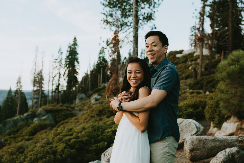 Sunrise at Glacier Point Yosemite Engagement Session-3.jpg