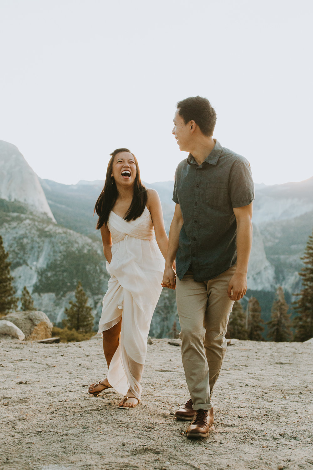 Sunrise at Glacier Point Yosemite Engagement Session-8.jpg