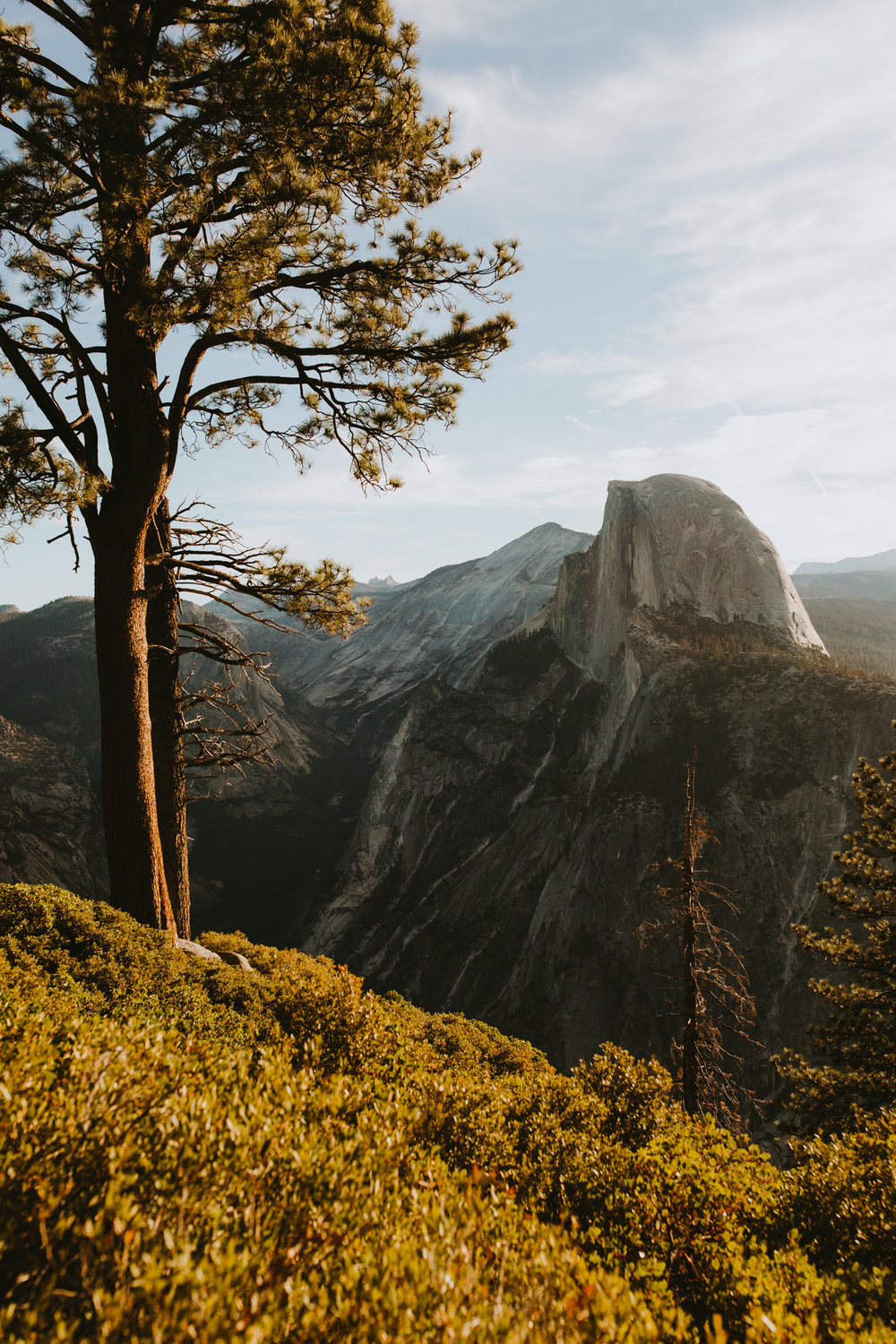 Sunrise at Glacier Point Yosemite Engagement Session-60.jpg
