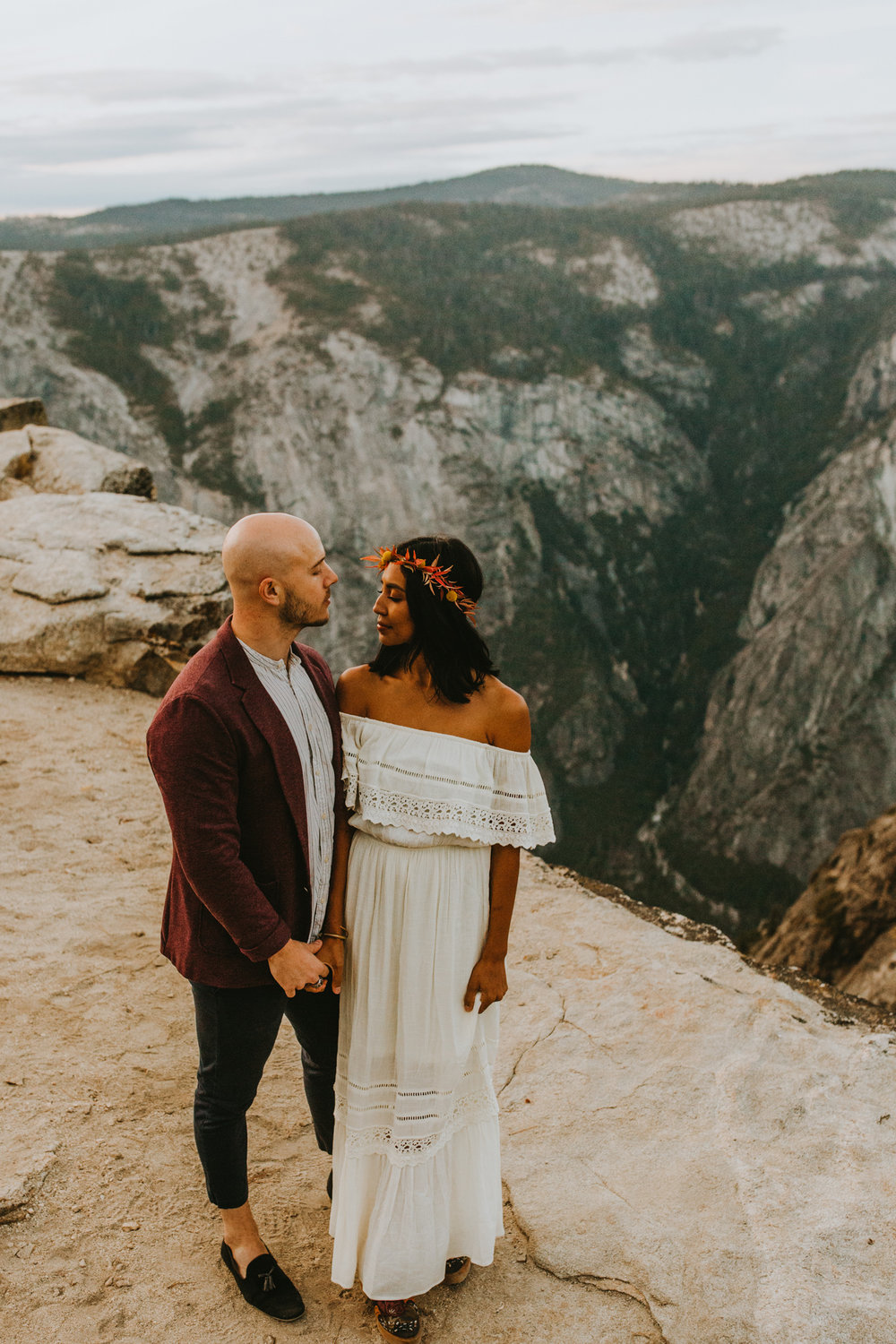 Yosemite Elopement Sunset Taft Point-92.jpg