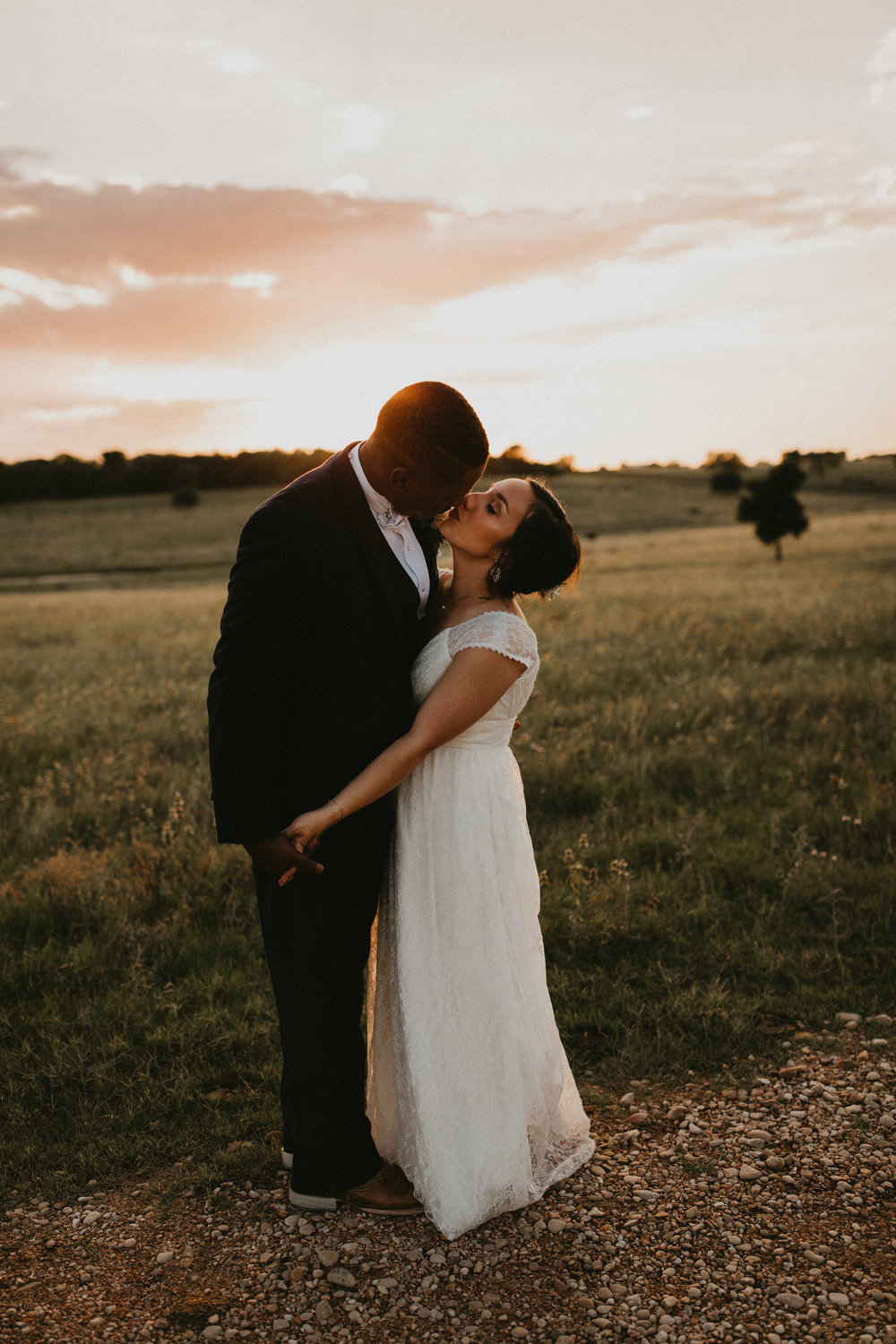 NO STRESS - If there is anything that stresses you out about your wedding day, don't do whatever that is. If the planning aspect stress you out, hire a planner. If extended family drama is stressing you out, don't invite them. If the finances are adding stress to your life, have a smaller wedding. If the garter toss feels awkward and sexist, don't do it. If your family is amplifying your stress levels, tell them they need to be a supportive rock and hear you out.Seriously, your day should be incredibly fun & drenched in love. If there is something blocking that, fix it or nix it.