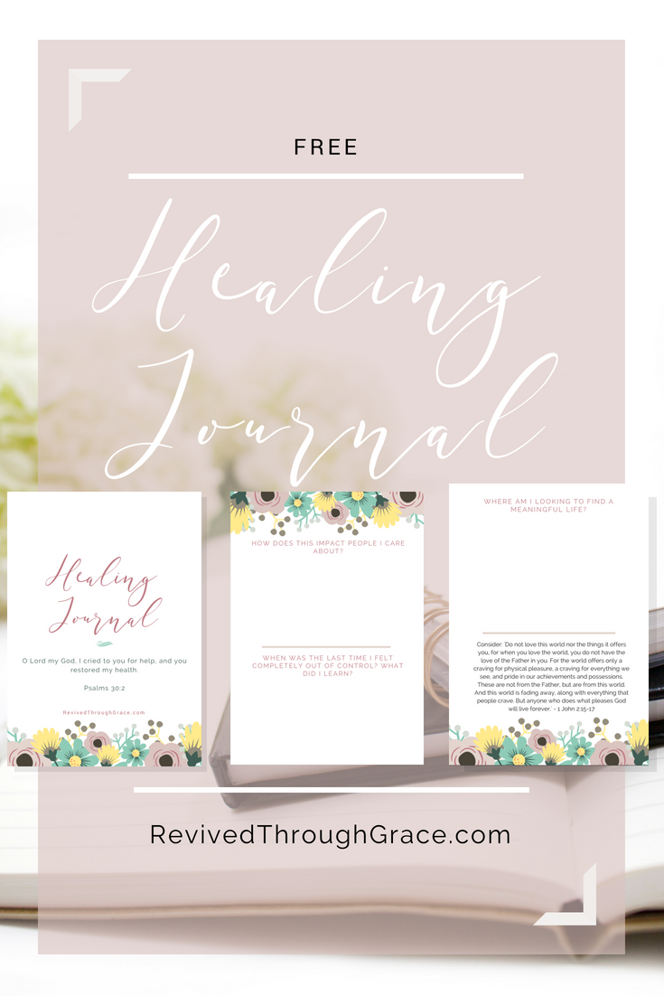 5 Biblical Truths for Overcoming Strongholds Healing Journal