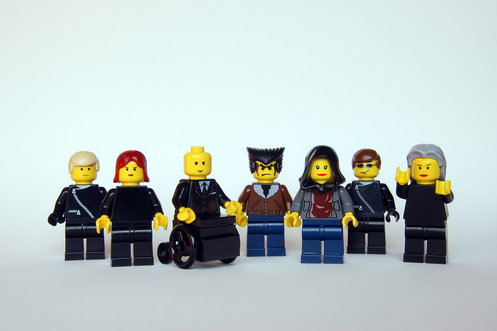 Make every team member an X-man (or woman!). Credit: Rob Young / Lego X-Men