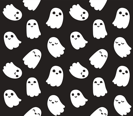 Cute ghost pattern
