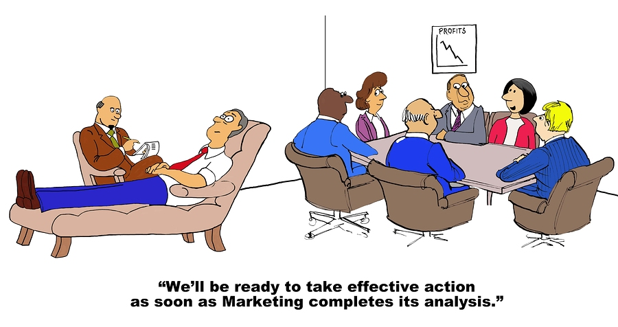 Marketing Completes Analysis