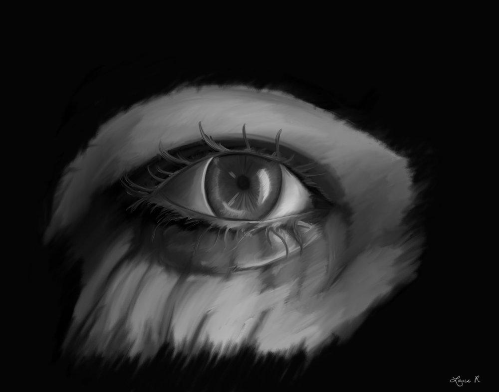 Talking Eyes - A Relationship's Journey - Eye 3