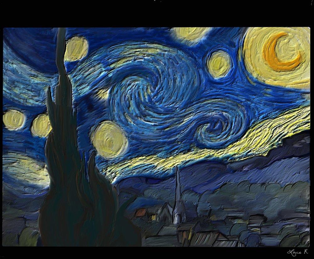 Master Copy Van Gogh