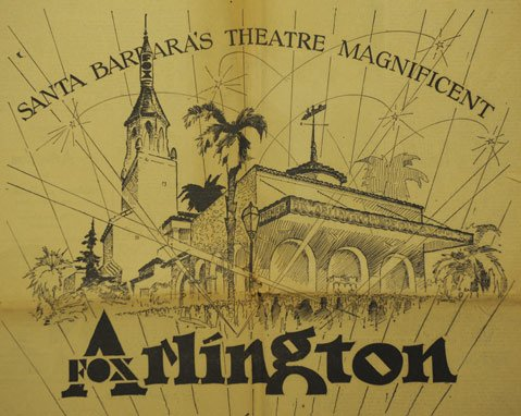 Arlington Theatre - via The Santa Barbara Independent