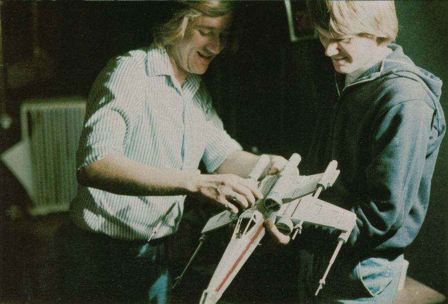 Joe Viskocil (L) -- via Skywalking Through Neverland