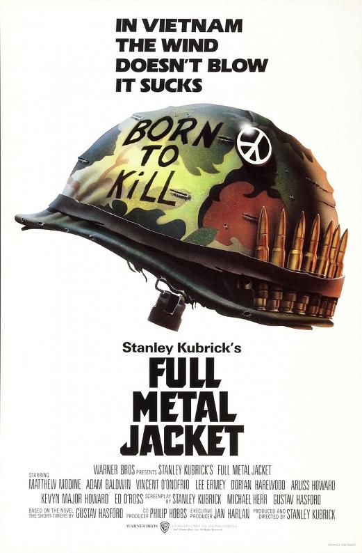 FULL METAL JACKET (1987) | Source: IMP Awards