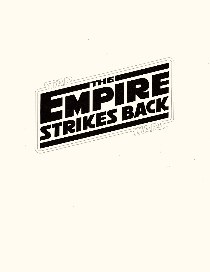 The Empire Strikes Back Credit Sheet