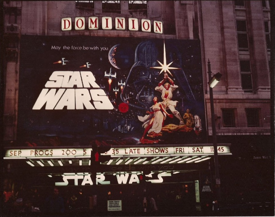 Star Wars  at the Dominion, London - via Killer Star Wars