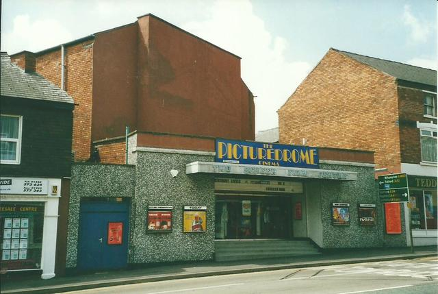 Cannock Cinema (Formerly the ABC) - via CinemaTreasures.org