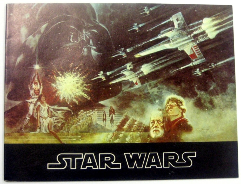 Star Wars  Souvenir Program (U.K. Version)