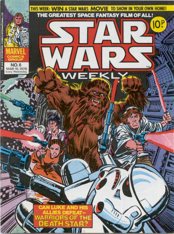 Marvel  Star Wars Weekly  No. 6