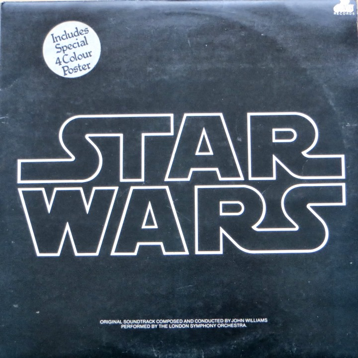 Star Wars  Double LP Soundtrack Album - via Episode Nothing Blog