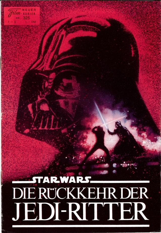 Neur Film-Kurier  Nr. 325 (Front Cover)