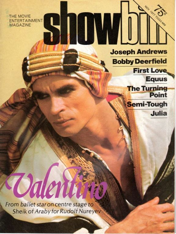 Showbill  Magazine (November 1977)